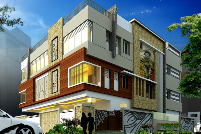 AR CONCEPTS Srinivas Nandyala Residential Elevation Image