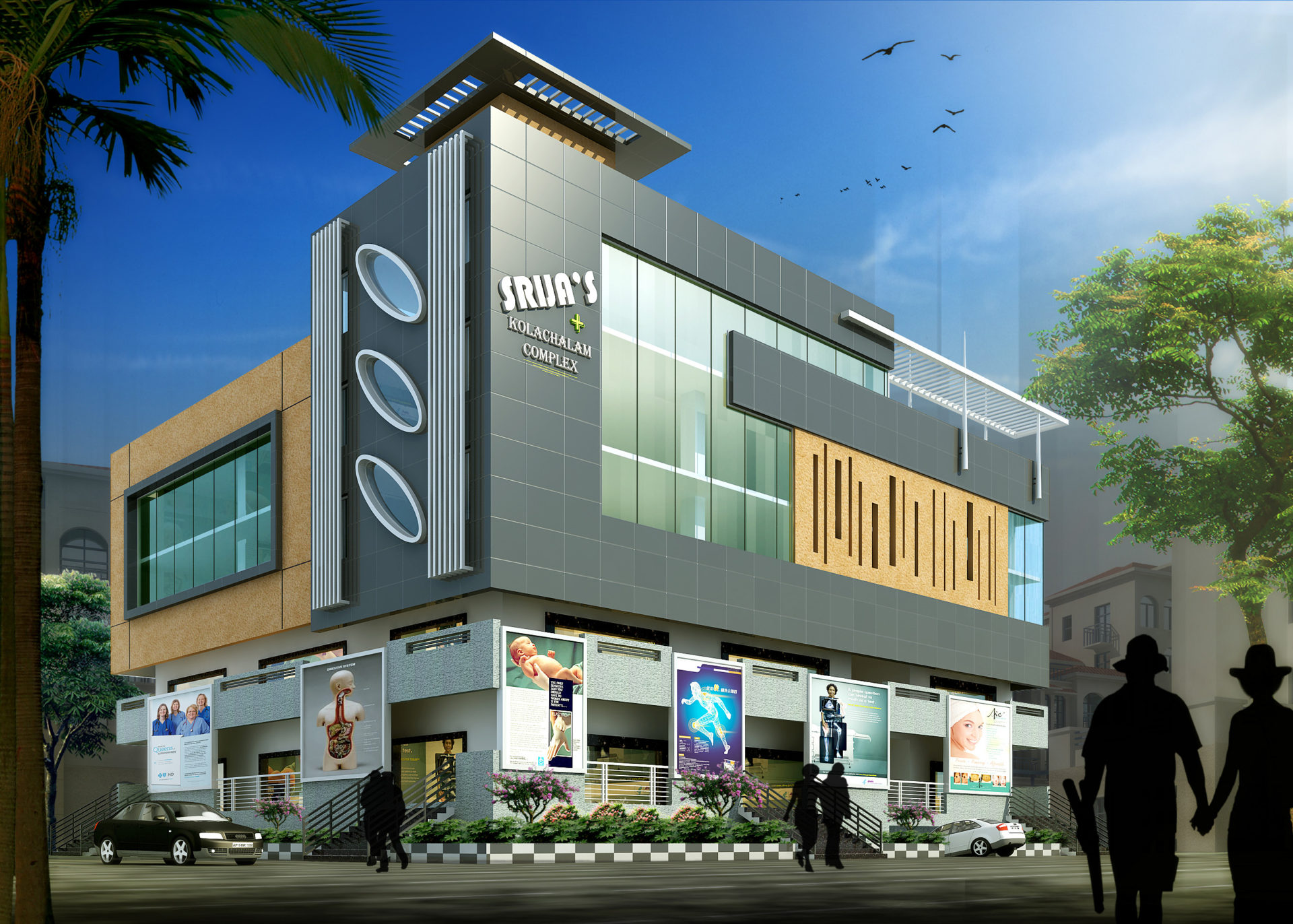 AR CONCEPTS   Svss Varma Commercial Elevation Image A