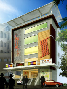 AR CONCEPTS   Svss Varma Commercial Elevation Image B