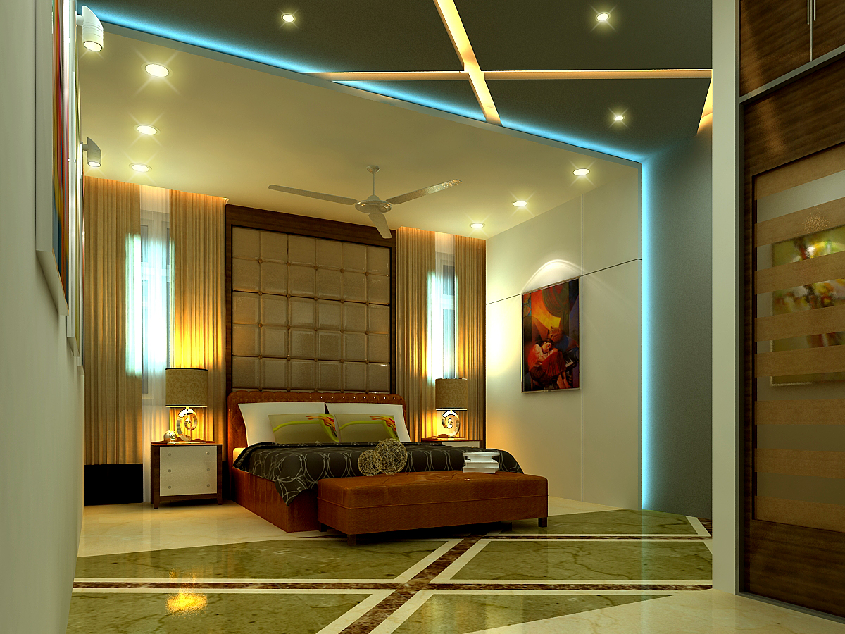 AR CONCEPTS Vitta Ramesh Residential Ground Floor Master Bed Room Image B