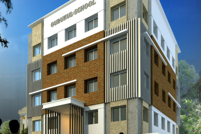 AR CONCEPTS   Gurkul School Elevation Image A