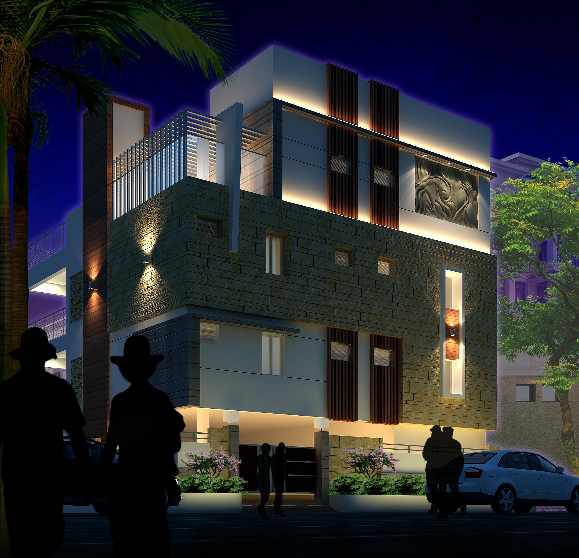 ar-concepts-jailpal-residential-elevation-night-image