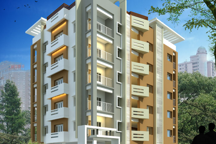 AR CONCEPTS Jaipal Reddy Apartment Elevation Image