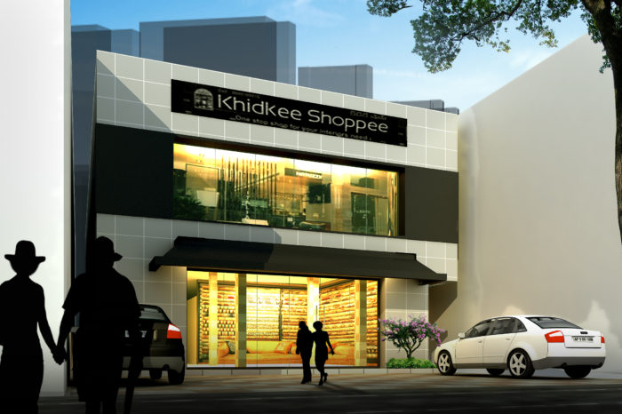 AR CONCEPTS   Khidkee Shoppee Elkevation Image A