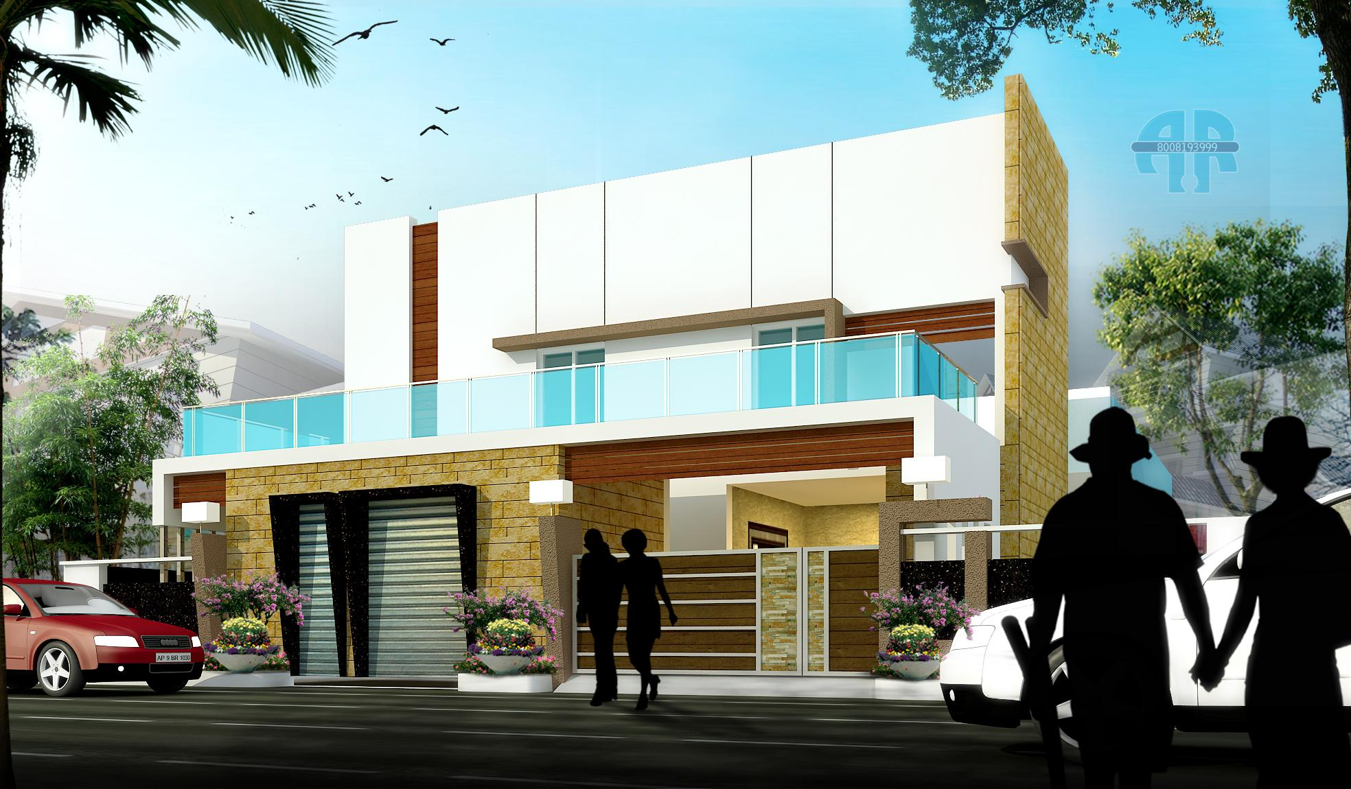 ar-concepts-madhinaguda-hyderabad-residential-elevation-image