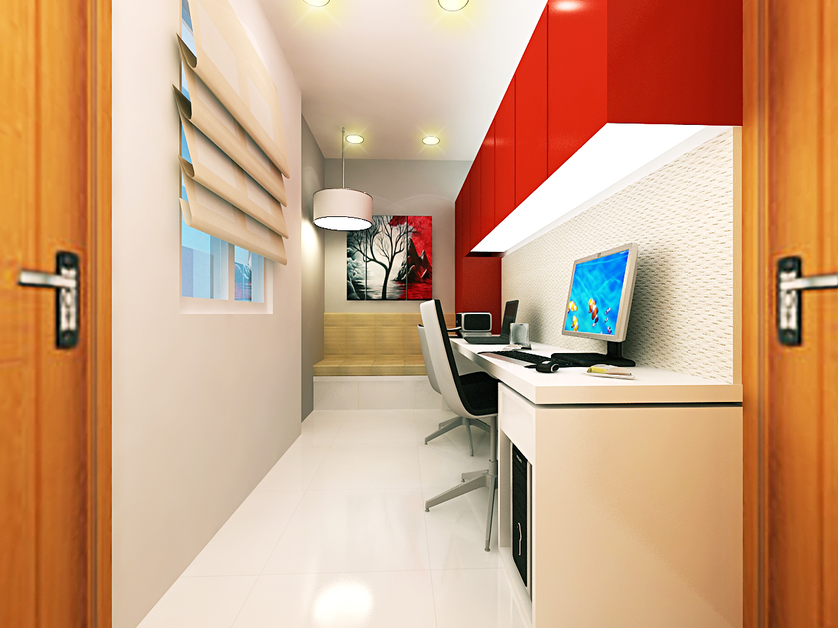 ar-concepts-nareandar-warangal-residential-study-room-image