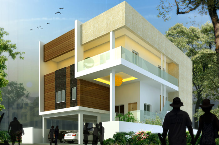 AR CONCEPTS Srinivasa Reddy Residential Elevation Image